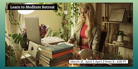 3-Day Virtual Meditation Retreat tickets