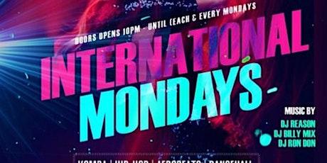 Hiphop & Caribbean Mondays tickets
