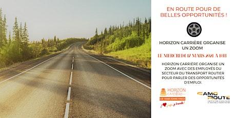 Explorez les emplois dans le secteur du transport routier ! tickets