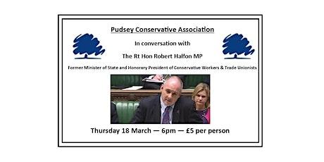 PCA in conversation with Robert Halfon MP tickets