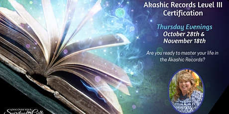 Akashic RecordReader Level III Certification (2 Classes) tickets