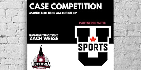 Sports Management Conference - Case Competition tickets