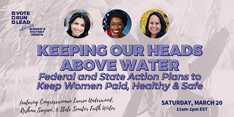 Vote Run Lead presents Keeping Our Heads Above Water tickets