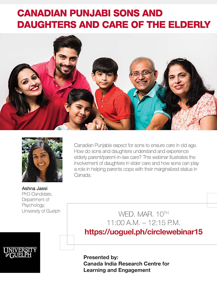 Canadian Punjabi Sons and Daughters and Elderly Care image