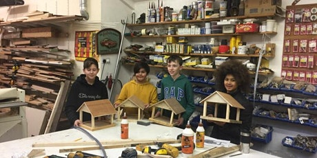 Parent and child - make a bird table, age7+ tickets