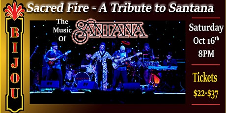 POSTPONED TO SAT, APR 9th 2022. Santana Tribute - Sacred Fire tickets
