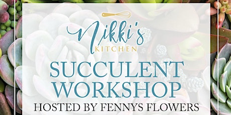 Succulent Workshop 3/24/21 tickets
