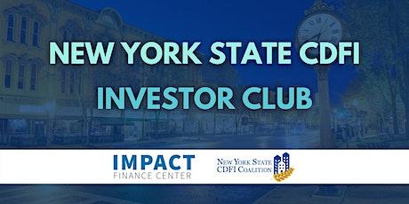 New York State CDFI Investor Club tickets