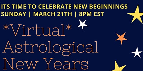 *Virtual* Astrological New Years Party tickets