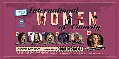 International Women of Stand-up Comedy - Live Online Show tickets