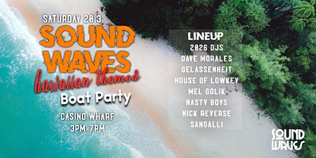 SoundWaves Boat Party XVI tickets