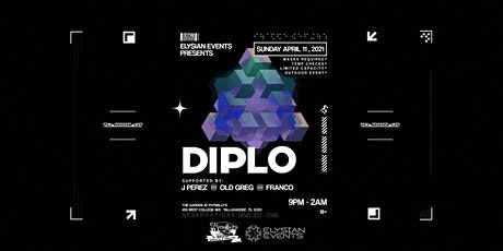 Diplo in the Garden tickets