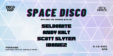 Space Disco tickets