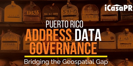 Puerto Rico Address Data Governance:  Bridging the Geospatial Gap tickets