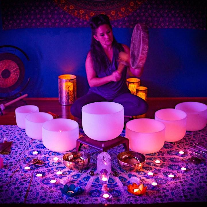 Sound Bath Healing Meditation 4-25-21 image