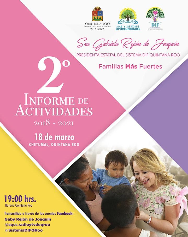 Imagen de SEGUNDO INFORME DE ACTIVIDADES 2018-2021, SRA.GABY REJÓN DE JOAQUÍN