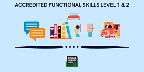 Functional Skills English Level 1 and 2 ( FREE Online Course) tickets