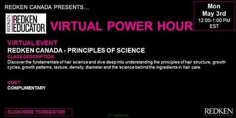 REDKEN CANADA - PRINCIPLES OF SCIENCE tickets
