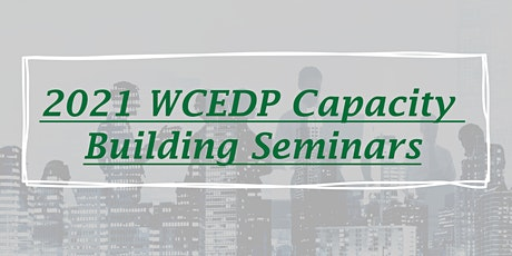 Copy of Capacity Building Seminar - Pedestrian Traffic/Downtown Development tickets