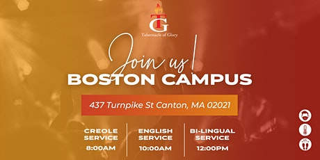 TG BOSTON SUNDAY SERVICES (MARCH) tickets