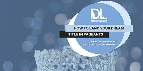 How to Land Your Dream Title tickets