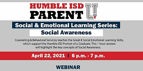 Social & Emotional Learning Series: Social Awareness tickets