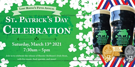 St. Patrick's Day Party at Lost Rhino tickets