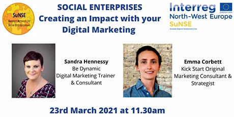 Social Enterprises: Creating an Impact with your Digital Marketing tickets