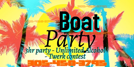Miami Party Boat 2021 -Unlimited Drinks Included tickets