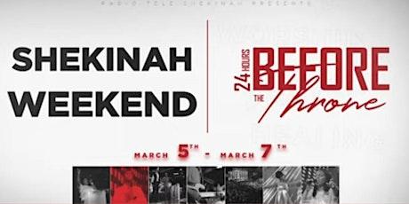 TG BOSTON SHEKINAH FRIDAY ONLY SERVICE (MARCH) tickets
