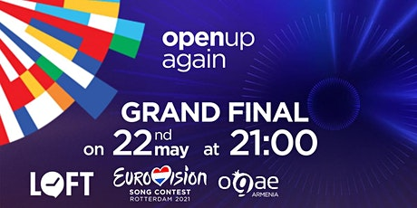 Eurovision 2021 Grand Final with OGAE Armenia tickets