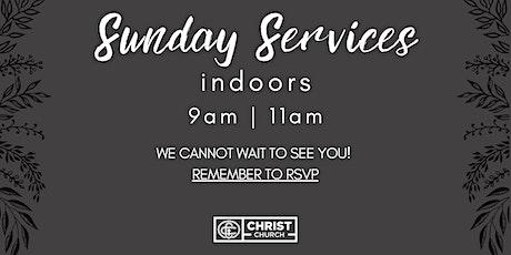 RSVP March 7th @ 9:00AM  -Christ Church Sunday Worship Service tickets