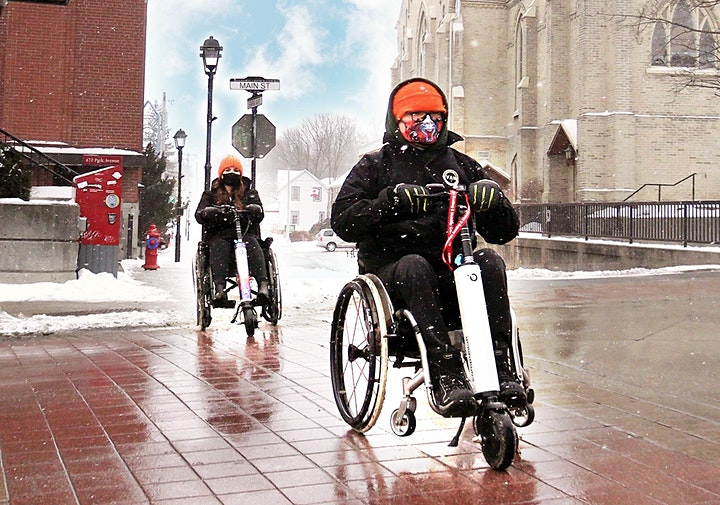 COMPANION Power Assist for manual Wheelchairs image