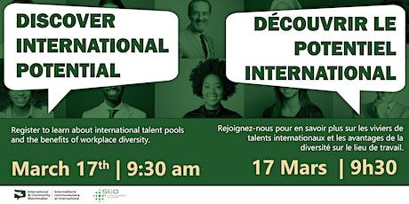 International Talent Chat Tickets