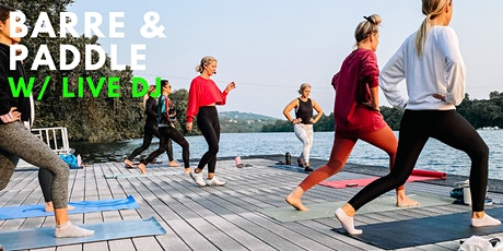 Barre and Paddle with Live DJ tickets