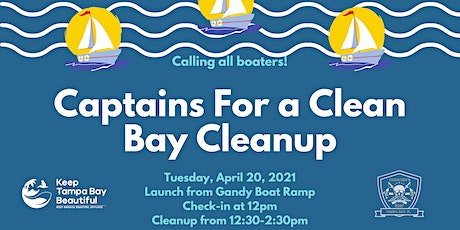 Captains for a Clean Bay Cleanup tickets