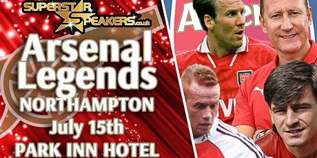 An Evening with Arsenal Legends - Northampton tickets