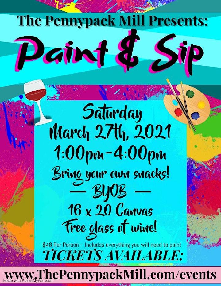Paint & Sip image