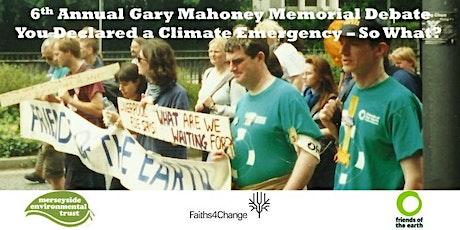 6th Gary Mahoney Memorial Debate tickets
