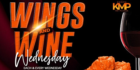 Wings & Wine Wednesday with Konpa Class tickets