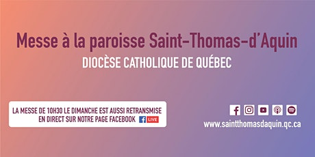 Messe  Saint-Thomas-d'Aquin - Mardi 9 mars 2021 à 17 h 15 billets