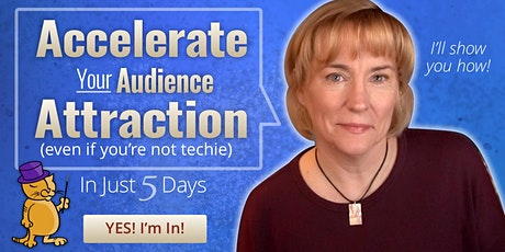 Accelerate Your Audience Attraction - FREE 5 Day Micro Course Challenge tickets