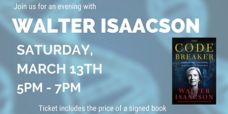 An Evening with Walter Isaacson in the Garden of Katherine & Tony Gelderman tickets