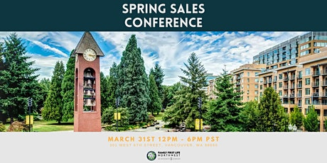 Family First Life Spring Sales Conference tickets
