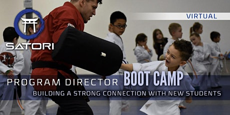 Program Director Boot Camp: Build a Strong Connection with New Students tickets