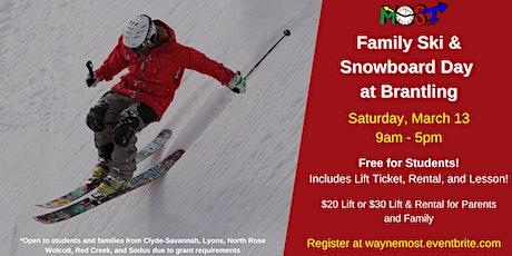 Family Ski & Snowboard Day tickets