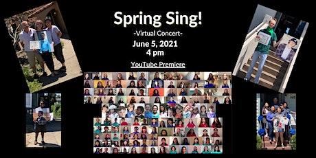Spring Sing! tickets