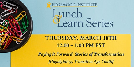 Edgewood Lunch & Learn [March 2021] tickets