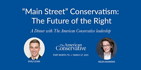 Main Street Conservatism: The Future of the Right tickets