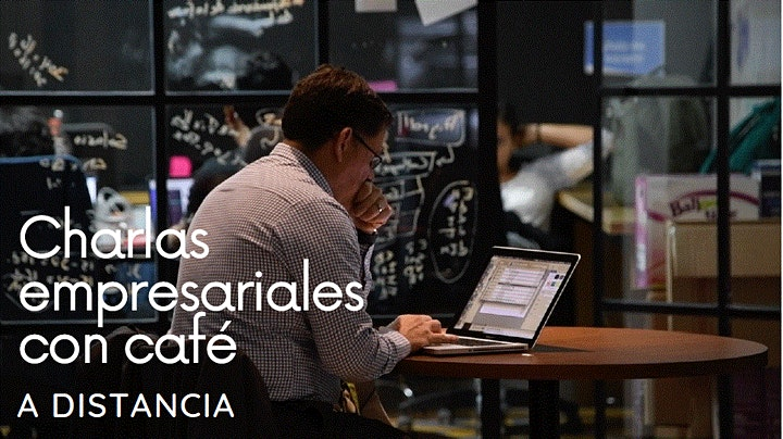 Charlas empresariales con café a distancia image